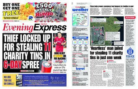 Evening Express – February 03, 2018
