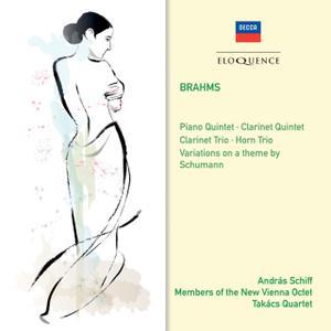 András Schiff, Members Of The New Vienna Octet, Takács Quartet - Brahms: Chamber Music (2013)