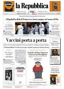la Repubblica - 6 Marzo 2021