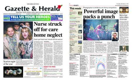 Gazette & Herald – November 02, 2017