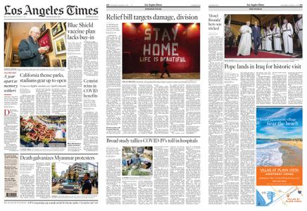 Los Angeles Times – March 06, 2021