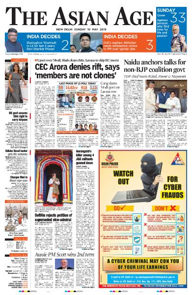 The Asian Age - May 19, 2019