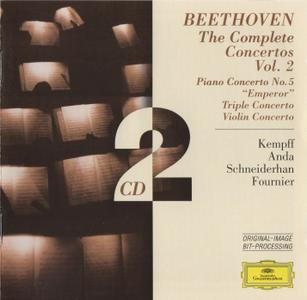 Wilhelm Kempff, Géza Anda, Wolfgang Schneiderhan, Pierre Fournier - Beethoven: The Complete Concertos, Vol. 2 (2016)