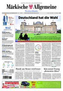 Märkische Allgemeine Westhavelländer - 23. September 2017