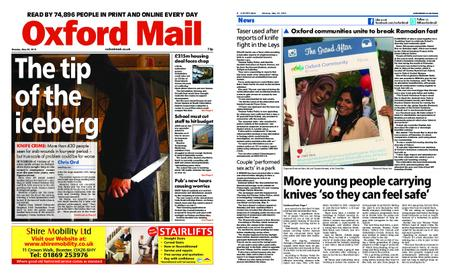 Oxford Mail – May 20, 2019