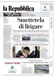 la Repubblica - 9 Aprile 2019
