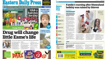 Eastern Daily Press – October 28, 2019