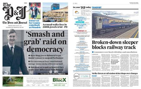 The Press and Journal Moray – August 29, 2019