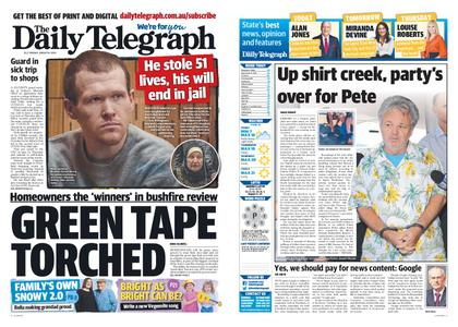 The Daily Telegraph (Sydney) – August 25, 2020