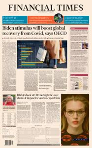 Financial Times Middle East - March 10, 2021