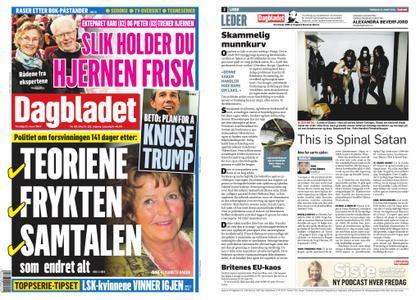 Dagbladet – 21. mars 2019