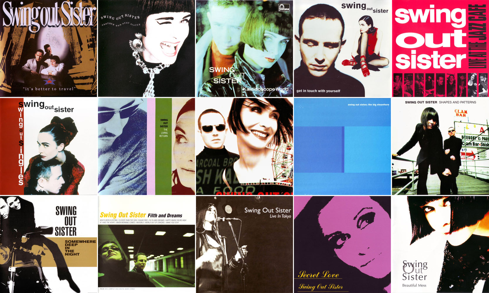 Swing Out Sister - Albums Collection 1987-2012 (18CD) / AvaxHome