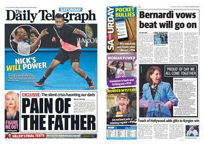 The Daily Telegraph (Sydney) – January 20, 2018