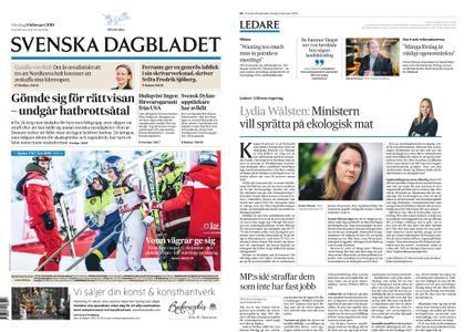 Svenska Dagbladet – 06 februari 2019