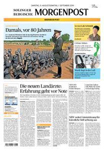 Solinger Morgenpost – 31. August 2019