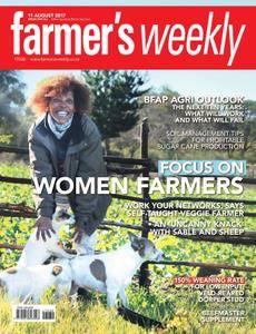Farmer's Weekly - 11 August 2017