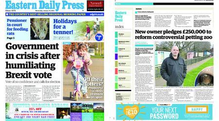 Eastern Daily Press – January 16, 2019