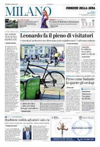 Corriere della Sera Milano – 09 agosto 2019