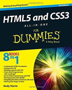 HTML5 and CSS3 All-in-One For Dummies [Repost]