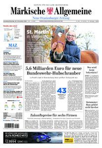 Neue Oranienburger Zeitung - 10. November 2018