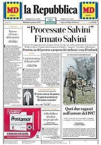 la Repubblica - 21 Gennaio 2020