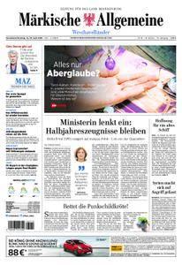 Märkische Allgemeine Westhavelländer - 14. April 2018