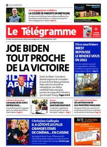 Le Télégramme Quimper – 06 novembre 2020