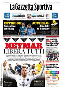 La Gazzetta dello Sport Roma – 11 agosto 2019