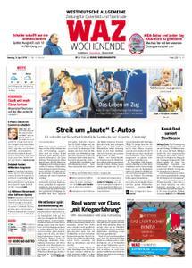 WAZ Westdeutsche Allgemeine Zeitung Oberhausen-Sterkrade - 13. April 2019