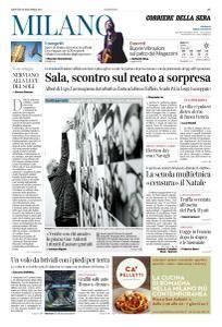 Corriere della Sera Milano - 14 Dicembre 2017