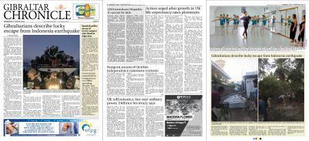Gibraltar Chronicle – 08 August 2018