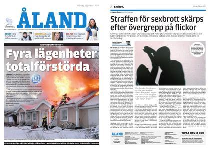 Ålandstidningen – 21 januari 2019