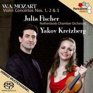 Julia Fischer, Yakov Kreizberg - Mozart: Violin Concertos Nos. 1, 2 & 5 (2006) [Official Digital Download 24/96]