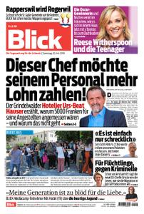 Blick – 20. Juli 2019