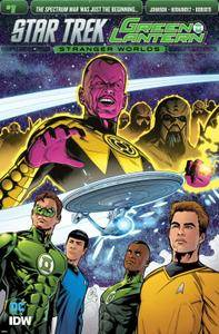 Star Trek - Green Lantern 001 (2016)
