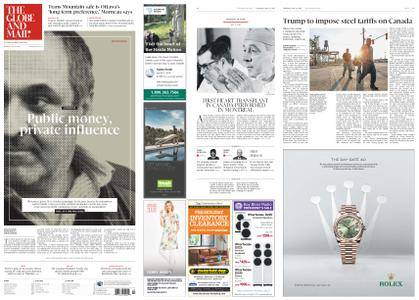 The Globe and Mail – May 31, 2018