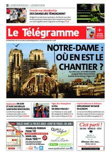 Le Télégramme Landerneau - Lesneven – 14 avril 2021