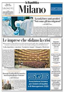 la Repubblica Milano - 7 Luglio 2020