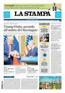 La Stampa Torino Provincia e Canavese - 17 Luglio 2018
