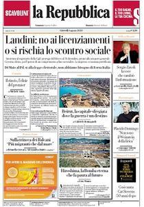 la Repubblica - 6 Agosto 2020