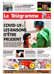 Le Télégramme Concarneau – 12 mars 2020