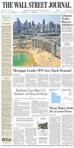 The Wall Street Journal – 06 August 2020