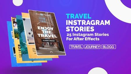 Travel Instagram Stories - Project for After Effects (VideoHive) 23150027