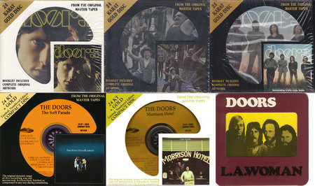 The Doors: Albums Collection (1967 - 1971) Re-up