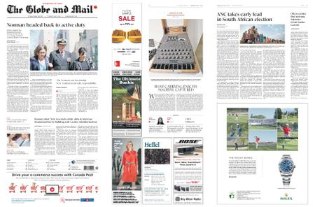 The Globe and Mail – May 09, 2019