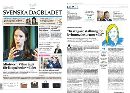 Svenska Dagbladet – 08 mars 2019