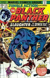 Jungle Action v2 020 003-1975 featuring Black Panther