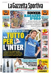 La Gazzetta dello Sport Roma – 15 novembre 2020