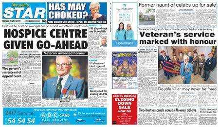 Shropshire Star Shrewsbury Edition – October 05, 2017
