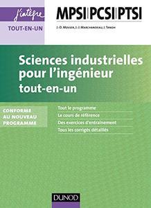 Sciences industrielles pour l'ingénieur MPSI-PCSI-PTSI - 2e édition